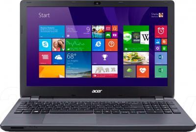 Ноутбук Acer Aspire E5-511-C169 (NX.MPKEU.006) - фронтальный вид