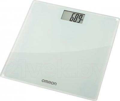 Напольные весы электронные Omron HN286 - вид в проекции