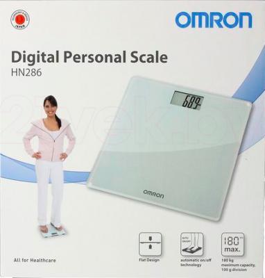 Напольные весы электронные Omron HN286 - упаковка