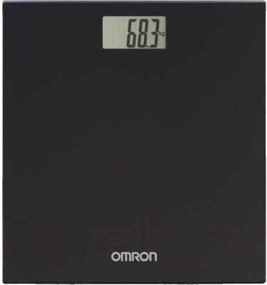 Напольные весы электронные Omron HN289 (черный) - общий вид