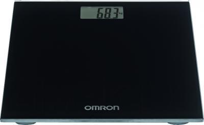 Напольные весы электронные Omron HN289 (черный) - вид в проекции
