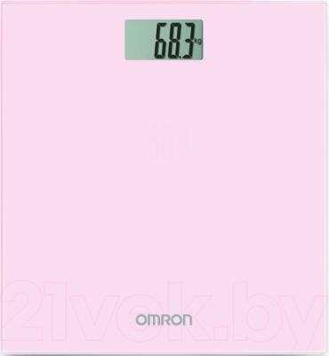 Напольные весы электронные Omron HN289 (розовый) - общий вид