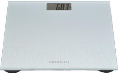 Напольные весы электронные Omron HN289 (серый) - общий вид