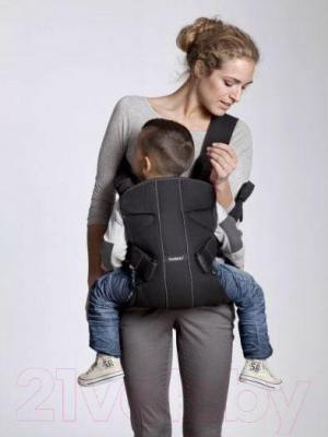 Эрго-рюкзак BabyBjorn One Mesh 0910.04 (серебристый) - общий вид