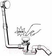 Сифон для ванны Viega Klick-Klack 572853 - общий вид