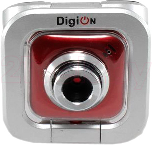 Веб-камера DigiOn PTWEB22 (Red) - общий вид