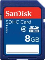 Карта памяти SanDisk SDHC (Class 4) 8GB (SDSDB-008G-B35) -