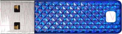 Usb flash накопитель SanDisk Cruzer Facet CZ55 Blue 16GB (SDCZ55-016G-B35BE) - общий вид
