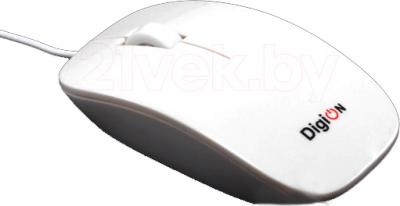 Мышь DigiOn PTDDLM110BUW - общий вид
