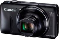 Компактный фотоаппарат Canon PowerShot SX600 HS (черный) -