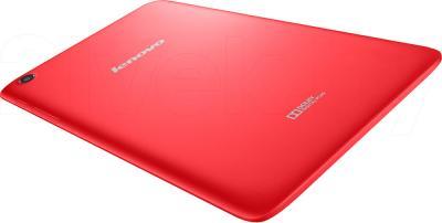 Планшет Lenovo IdeaTab A5500 (16GB, 3G, Red) - вид сзади
