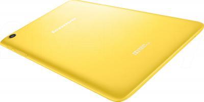 Планшет Lenovo IdeaTab A5500 (16GB, 3G, Yellow) - вид сзади