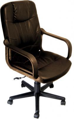 Кресло офисное Деловая обстановка Бюджет MFM (Dark Brown) - общий вид
