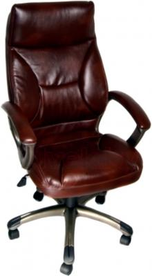 Кресло офисное Деловая обстановка Лагуна МFM (Dark Brown) - общий вид