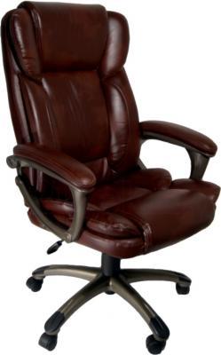 Кресло офисное Деловая обстановка Лагуна Люкс MFM (Dark Brown) - реальный цвет модели может немного отличаться