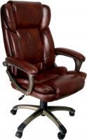 Кресло офисное Деловая обстановка Лагуна Люкс MFM (коричневый) -