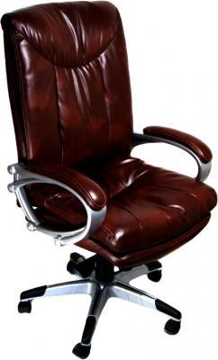 Кресло офисное Деловая обстановка Торонто (темно-коричневый) - реальный цвет модели может немного отличаться