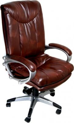 Кресло офисное Деловая обстановка Торонто (коричневый) - общий вид