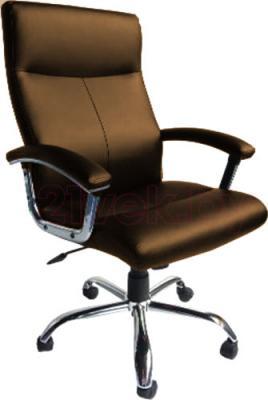 Кресло офисное Деловая обстановка Фаворит MFM (Dark Brown) - реальный цвет модели может немного отличаться