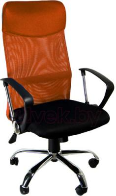 Кресло офисное Деловая обстановка Бета (оранжевый) - реальный цвет модели может немного отличаться