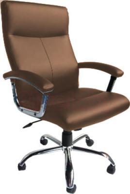 Кресло офисное Деловая обстановка Фаворит MFM (Brown) - реальный цвет модели может немного отличаться