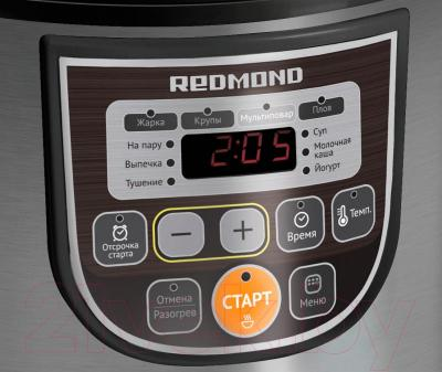 Мультиварка Redmond RMC-M12 (черный)
