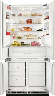 Холодильник с морозильником Zanussi ZBB47460DA - общий вид