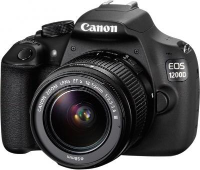 Зеркальный фотоаппарат Canon EOS 1200D Kit 18-55mm III - общий вид