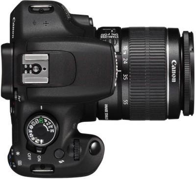 Зеркальный фотоаппарат Canon EOS 1200D Kit 18-55mm III - вид сверху