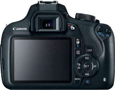 Зеркальный фотоаппарат Canon EOS 1200D Kit 18-55mm IS - вид сзади