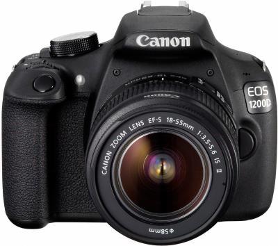 Зеркальный фотоаппарат Canon EOS 1200D Kit 18-55mm IS - общий вид