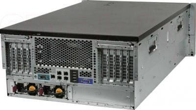 Сервер HP ML350pT8 (470065-763) - вид сзади