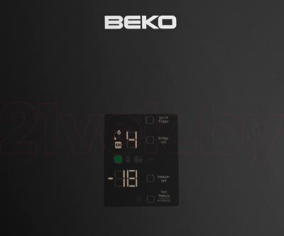 Холодильник с морозильником Beko CN147223GB - панель управления