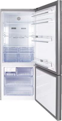 Холодильник с морозильником Beko CN147223GB - внутренний  вид