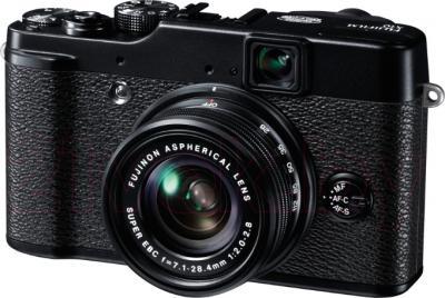 Компактный фотоаппарат Fujifilm FinePix X-10 (черный) - общий вид