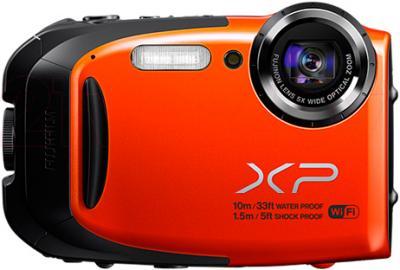 Компактный фотоаппарат Fujifilm FinePix XP70 (Orange) - общий вид