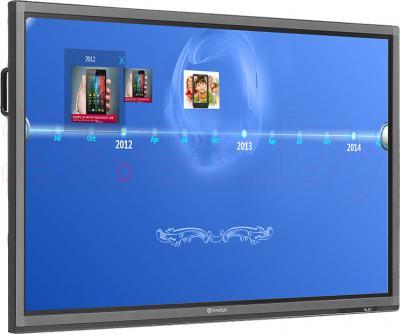 Интерактивная панель Prestigio MultiBoard PMB554H848 (Black) - вполоборота