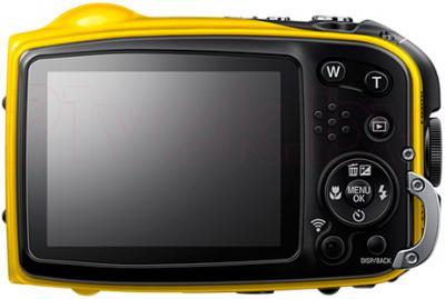 Компактный фотоаппарат Fujifilm FinePix XP70 (Yellow) - вид сзади