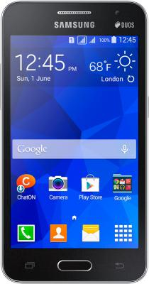 Смартфон Samsung Galaxy Core II / G355H (черный) - общий вид