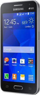 Смартфон Samsung Galaxy Core II / G355H (черный) - вполоборота