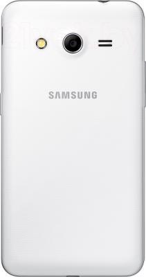 Смартфон Samsung Galaxy Core II / G355H (белый) - задняя панель