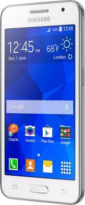 Смартфон Samsung Galaxy Core II / G355H (белый) - общий вид