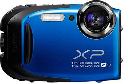 Компактный фотоаппарат Fujifilm FinePix XP70 (Blue) - общий вид