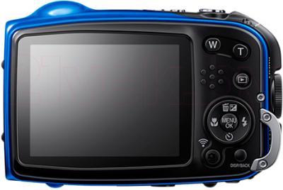 Компактный фотоаппарат Fujifilm FinePix XP70 (Blue) - вид сзади