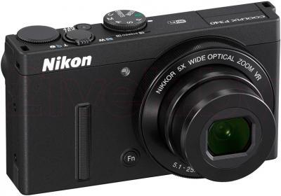 Компактный фотоаппарат Nikon Coolpix P340 (Black) - общий вид