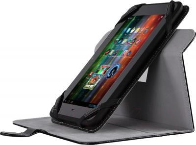 """Чехол для планшета Prestigio Universal rotating Tablet case for 10.1"""" Black (PTCL0210BK) - пример использования"""