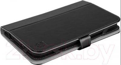 """Чехол для планшета Prestigio Universal 7"""" PTCL0107A_BK (черный) - вид в проекции"""