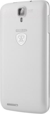 Смартфон Prestigio MultiPhone 3501 Duo (белый) - задняя панель