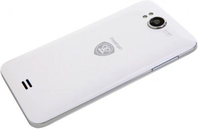 Смартфон Prestigio MultiPhone 5307 Duo (белый) - общий вид