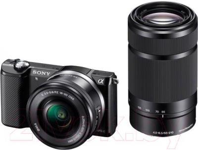 Беззеркальный фотоаппарат Sony ILCE-5000Y - общий вид
